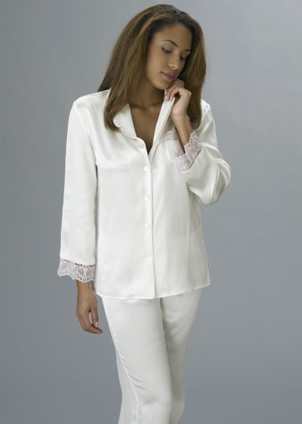 luxury silk pajama